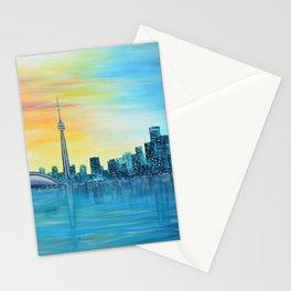Toronto Sunset Stationery Cards