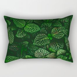 Fresh Greens (Color) Rectangular Pillow