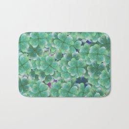 Four Leaf Clover Bath Mat