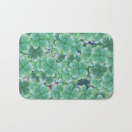 Four Leaf Clover Bath Mat