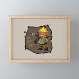 Jayne and Vera Framed Mini Art Print