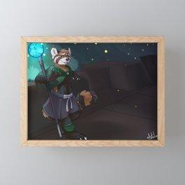 Won Bet Framed Mini Art Print