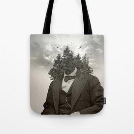 Head in the clouds II Tote Bag