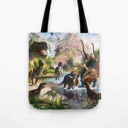 Jurassic dinosaur Tote Bag