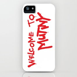 Welcome to Mutiny - Halt & Catch Fire iPhone Case