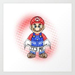 It's ME, Mario !  Art Print