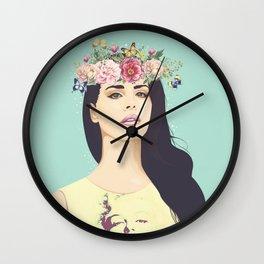 Hipster Queen Wall Clock