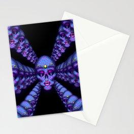 Pierced Skull 3 Stationery Cards