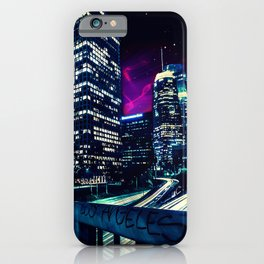 Spacey Los Angeles iPhone Case