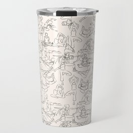Yoga Manuscript Travel Mug