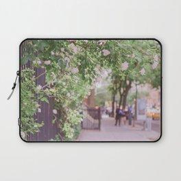 West Village in Bloom Laptop Sleeve