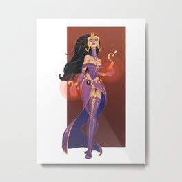 Liliana of the Veil Metal Print