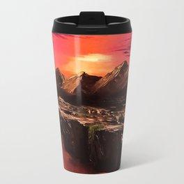 Desert Sun Travel Mug