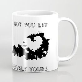Aggressively Yours Science Love Coffee Mug
