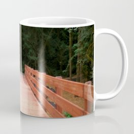 Red Cedar Hiking Bridge Coffee Mug