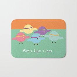 Birds Gym Class Bath Mat
