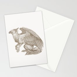 Gryph Stationery Cards