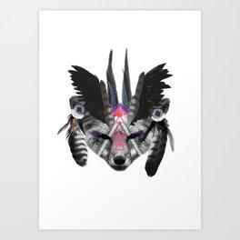 Fox Chief Art Print