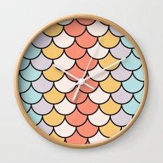 Color Twist Wall Clock