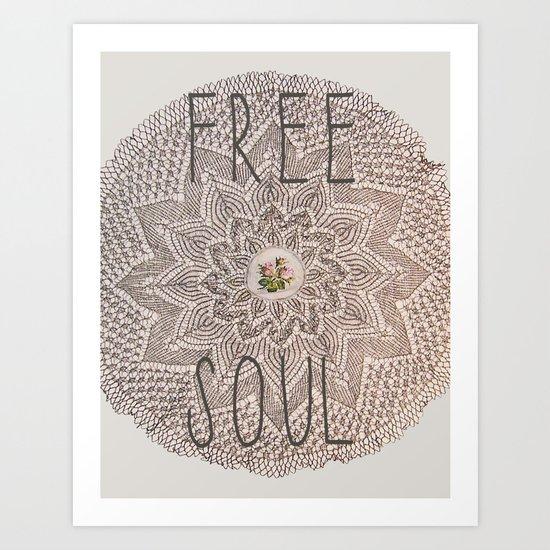 Free Soul Art Print