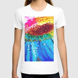 Colour pop sunflower T-shirt