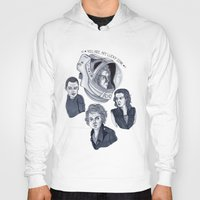 ripley Hoodies featuring Ripley by scoobtoobins