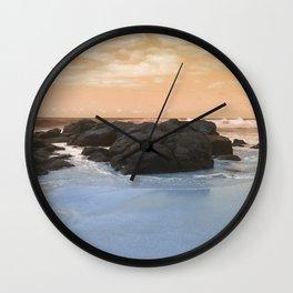 Rocky Blue Wall Clock