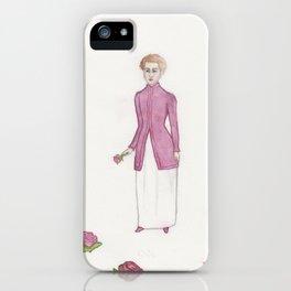 Madame La Rose iPhone Case