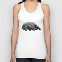 dreams Tank Tops featuring Sweet Dreams Ursus Arctus  by Sandra Dieckmann