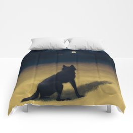 Night in the Hills Comforters