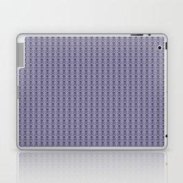 Black and Lavender Skulls Laptop & iPad Skin