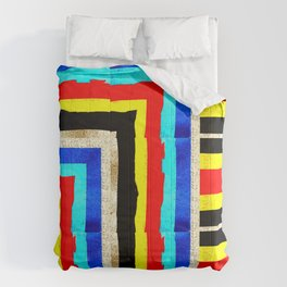 Colourful stripes bothways Comforters