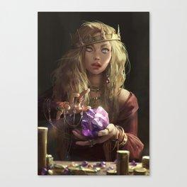 Greed Canvas Print