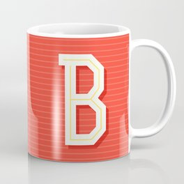 Monogram letter B Coffee Mug