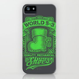 These Boots Are Made for Stompin' iPhone Case