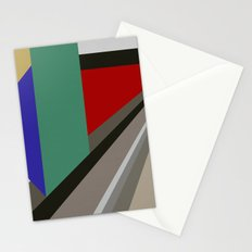TRAVEL TO NOWHERE ABSTRACT Stationery Cards