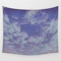 future Wall Tapestries featuring Future Skies by Charma Rose