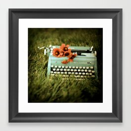 Loveletters Framed Art Print