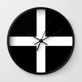 The Flag Of Cornwall Wall Clock