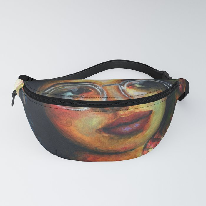 Girl in glasses Fanny Pack