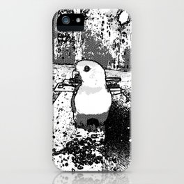 Parrot Portrait Comic iPhone Case