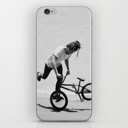 Flatland BMX Rider iPhone Skin