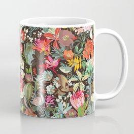 Floral maximalism Coffee Mug