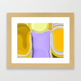 Abstract Sweet Shapes Framed Art Print