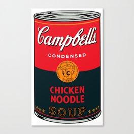 Campbell's scootaloo noodle soup 4 Canvas Print