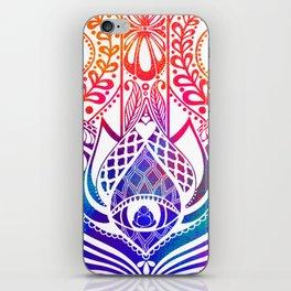 Hamsa Splatter iPhone Skin