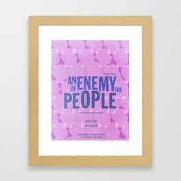 An Enemy of the People Framed Art Print