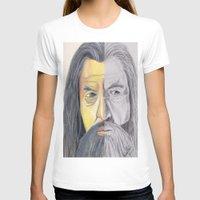 gandalf T-shirts featuring Gandalf   by RidnelSilva