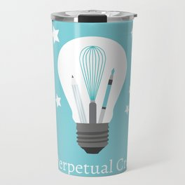 The Perpetual Creator Logo Travel Mug