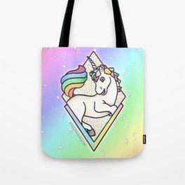 Pastel Unicorn Tote Bag